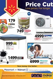 Wallmart Price Cut Specials