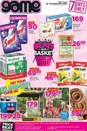 Game Grocery Specials