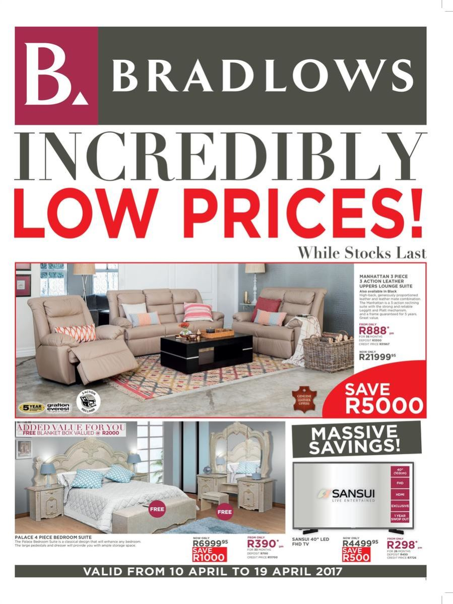 Bradlows Specials Catalogue 10 Apr 2017 19 Apr 2017