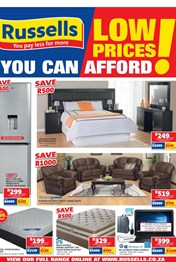 Find Specials || Russells Furniture Catalogue