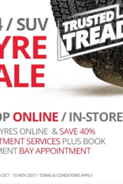 Find Specials || Tiger Wheel & Tyre 4x4 Tyre Sale