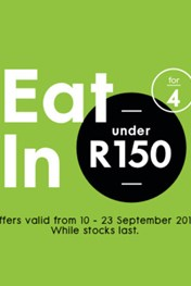 Eat in for Less at Woolworths
