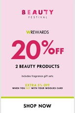 Find Specials || Woolworths Beauty Fair