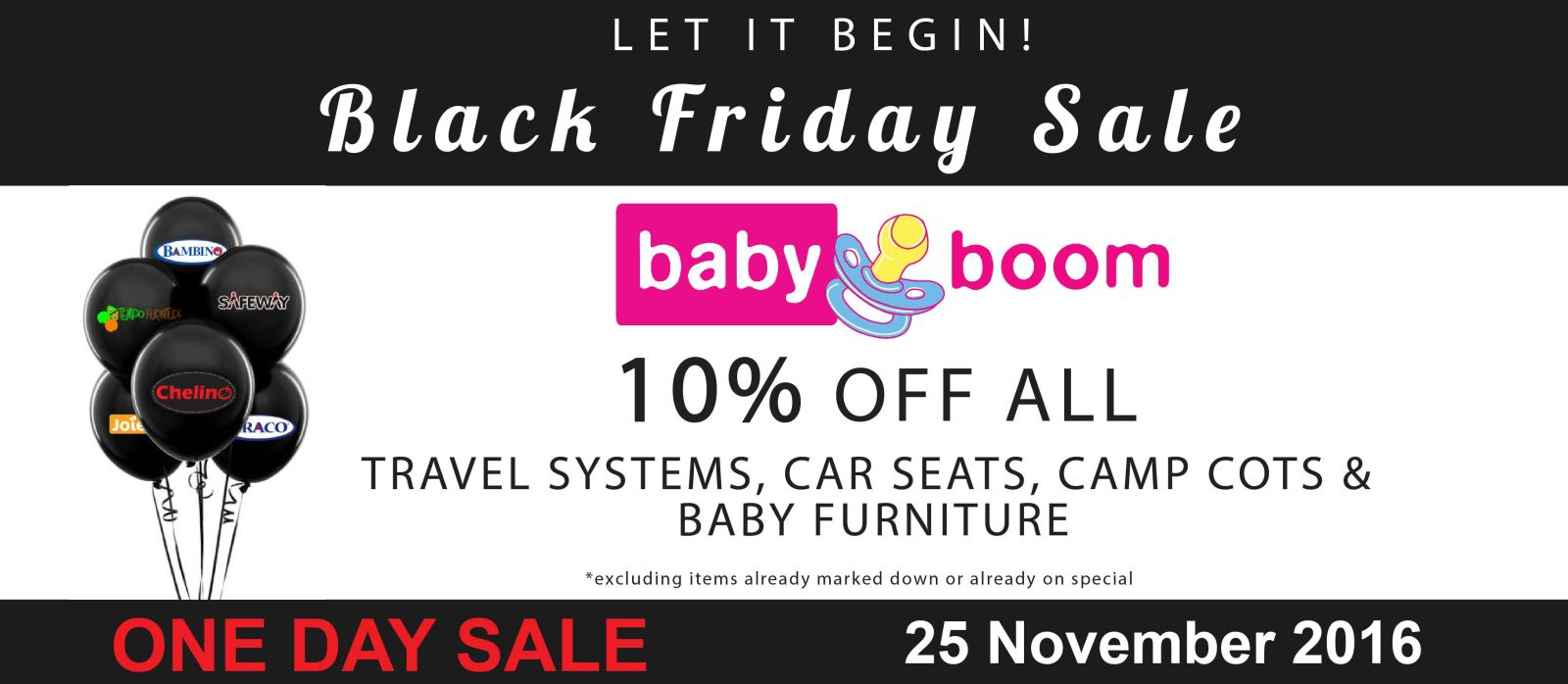 babyboom black friday deals specials catalogue 24 nov 2016 25 nov 2016 fi. Black Bedroom Furniture Sets. Home Design Ideas