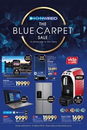Find Specials || Dion Wired Blue Carpet Sale