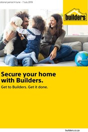 Builders Home Security Deals
