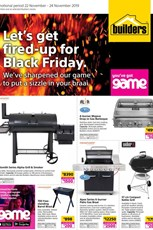 Find Specials || Builders Pre Black Friday Specials 2019