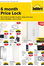 Find Specials || Builders 6 Month Price Lock
