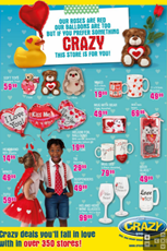 Find Specials || The Crazy Store Valentine's Day Specials