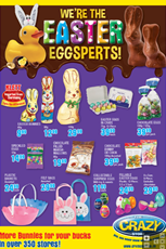 Find Specials || The Crazy Store Easter Specials
