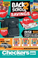 Find Specials || Checkers Back to School Catalogue