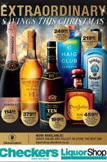 Find Specials || Eastern Cape, Northern Cape, KZN Checkers Christmas Liquorshop Specials