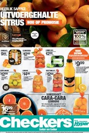 Find Specials || Northern Cape, Free State Checkers Citrus Promotion