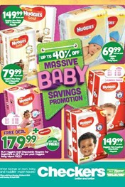 Find Specials || Eastern Cape Checkers Baby Promotion