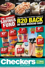 Find Specials || Eastern Cape Checkers January Savings