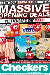 Find Specials || EC Checkers Plettenberg Bay Mall Opening Specials
