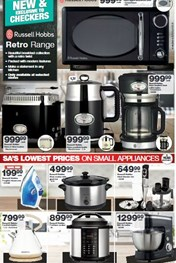 Find Specials || Eastern Cape Checkers Small Appliances Specials