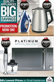 Find Specials || Eastern Cape Checkers Small Appliances Promotion