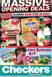Find Specials || Checkers Columbine Opening Deals
