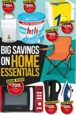Find Specials || Gauteng, Limpopo, Mpumalanga, North West Checkers Home Essentials Promotion