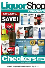 Find Specials || Gauteng, Limpopo, Mpumalanga, North West Checkers LiquorShop Specials