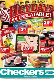 Find Specials || Gauteng, limpopo, Mpumalanga, North West Checkers Heydays Deals