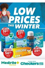 Find Specials || Checkers Medirite Winter Specials