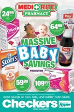 Find Specials || Checkers Medirite Baby Promotion