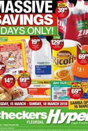 Find Specials || Northern Cape, Free State Checkers Hyper Big Deal Weekend