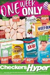 Find Specials || Gauteng Checkers Hyper One Week Only Deals