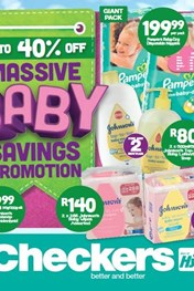 Find Specials || Northern Cape, Free State Checkers Baby Promotion
