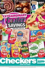 Find Specials || NC, FS Checkers Easter Specials