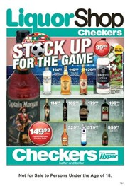 Find Specials || Northern Cape, Free State Checkers Liquor Specials