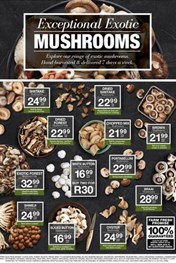 Find Specials || Northern Cape, Free State Checkers Mushrooms Promotion