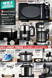 Find Specials || Northern Cape, Free State Checkers Small Appliances