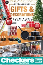 Find Specials || Western Cape Checkers Christmas Gifts and Decorations