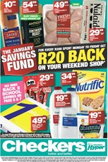 Find Specials || Western Cape Checkers January Savings