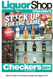 Find Specials || Western Cape Checkers Liquor Deals