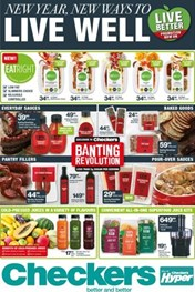 Find Specials || Western Cape Checkers Live Well Promotion