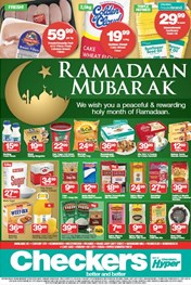 Find Specials || Western Cape Checkers Ramadaan Mubarak Promotion