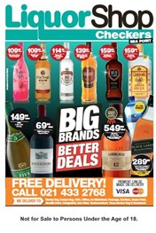 Find Specials || Western Cape Checkers Sea Point Liquor Deals