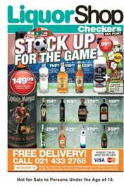Find Specials || Western Cape Seapoint Checkers Liquor Deals