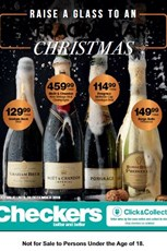 Find Specials || Checkers Christmas Wine Promotion