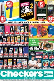 Find Specials || KZN Checkers Back To School Specials