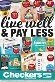 Find Specials || KZN Checkers Live Well Pay Less Promotion