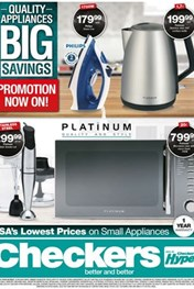 Find Specials || KZN Checkers Small Appliances Deals