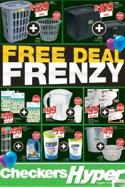KZN Checkers Hyper Free Deal Frenzy Promotion