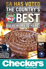 Checkers Best Boerewors Is Here