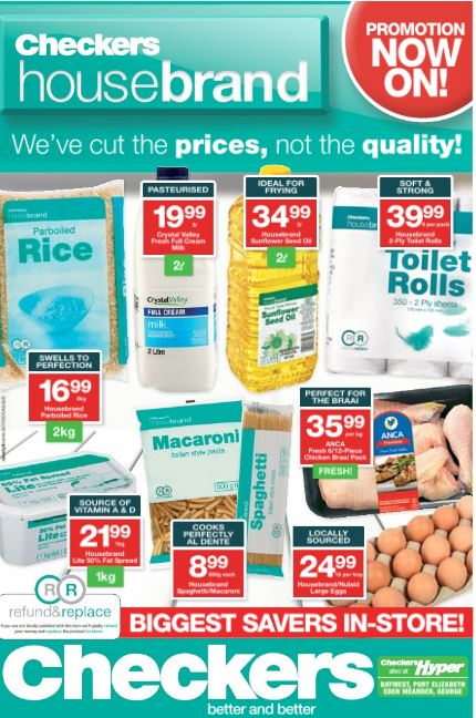 Eastern Cape Checkers Deals 06 Mar 2017 19 Mar 2017