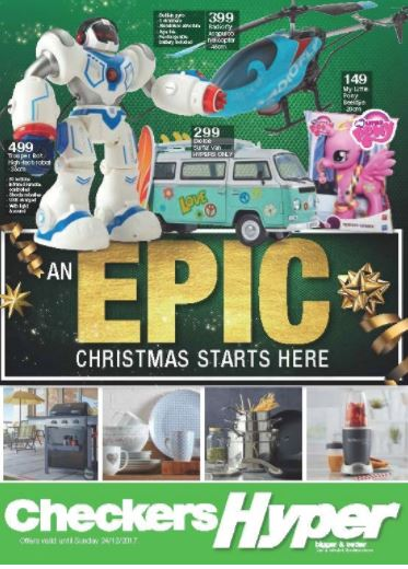 Checkers Christmas Deals Catalogue 20 Nov 2017 24 Dec 2017 Find Specials